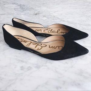 Sam Edelman Black Pointy Toe Flats